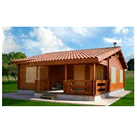 casa de madera la rioja