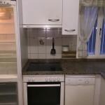 Cocina antigua lista para ser desmontada en Logroño