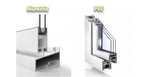 Detalle de ventana de PVC y aluminio para cambio de ventanas en Logroño
